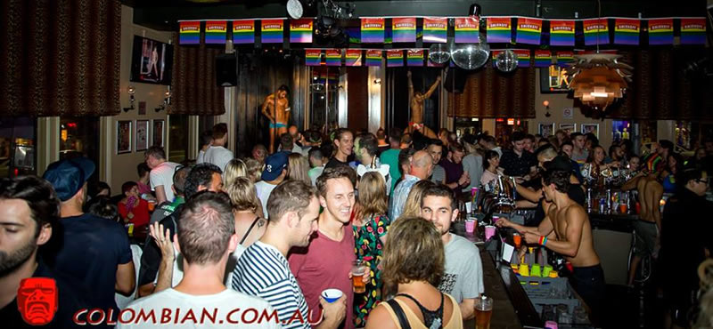 The Colombian gay bar Sydney