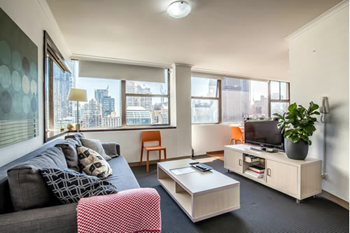 City & Park Views Apartment in Sydney